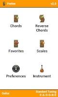 Screenshot of Fretter Lite - Chords