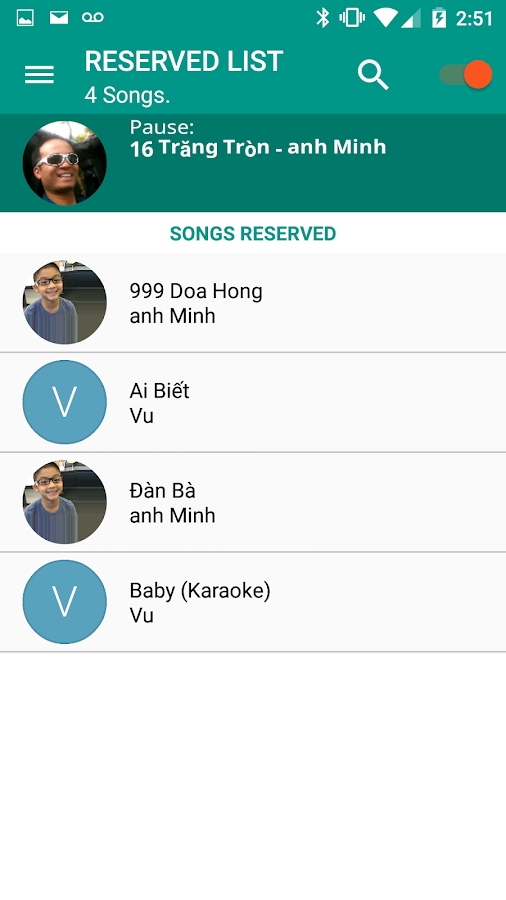 Songbook Remote- screenshot
