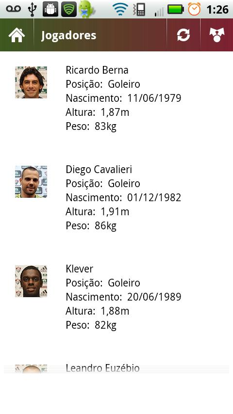 Fluminense News - screenshot
