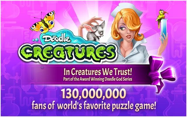 Doodle Creatures HD - screenshot