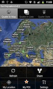 Earthquakes In Europe Regi - screenshot thumbnail