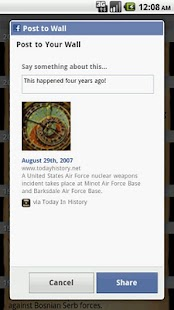 Today in History - screenshot thumbnail