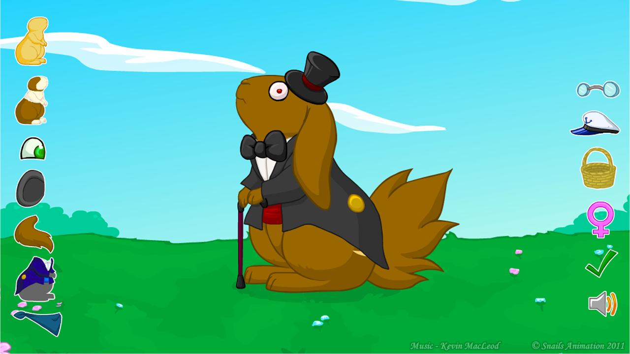 Nibbler Love - Dress Up - screenshot