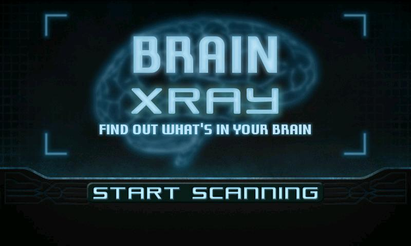 Brain Xray Scanner- screenshot