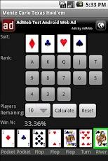 Monte Carlo Texas Hold'em