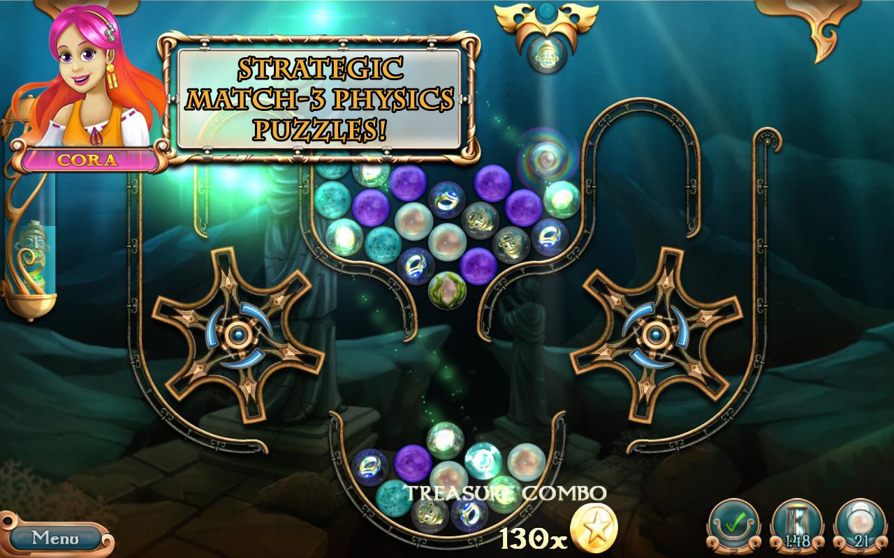 League of Mermaids: Match-3 - screenshot