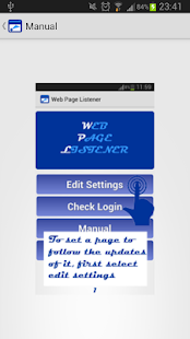 Web Page Listener – Update- screenshot thumbnail