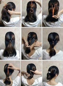 Hairstyles (Step by Step) screenshot 5