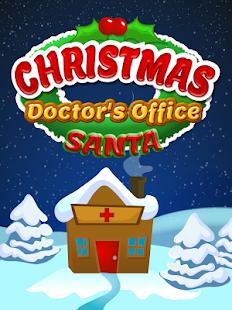 Christmas Doctors Office Santa