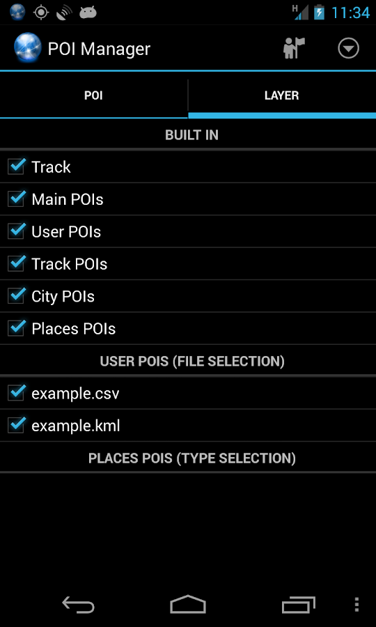Ultra GPS Logger- screenshot