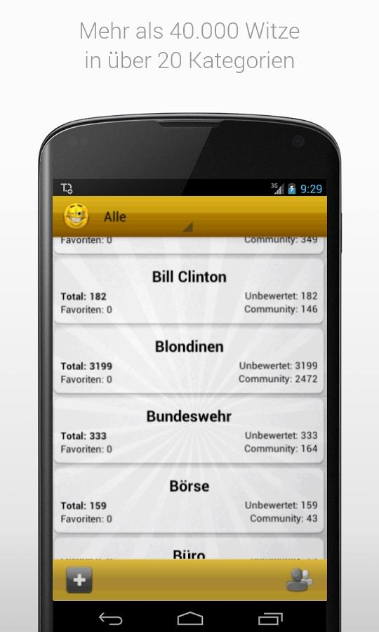 Witzopedia - German Jokes App - screenshot