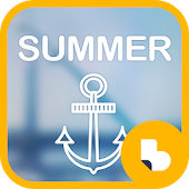 Summer Buzz Launcher Theme