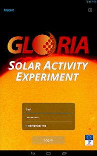 GLORIA Solar Activity - screenshot thumbnail