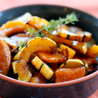 Maple Roasted Root Vegetables and Squash