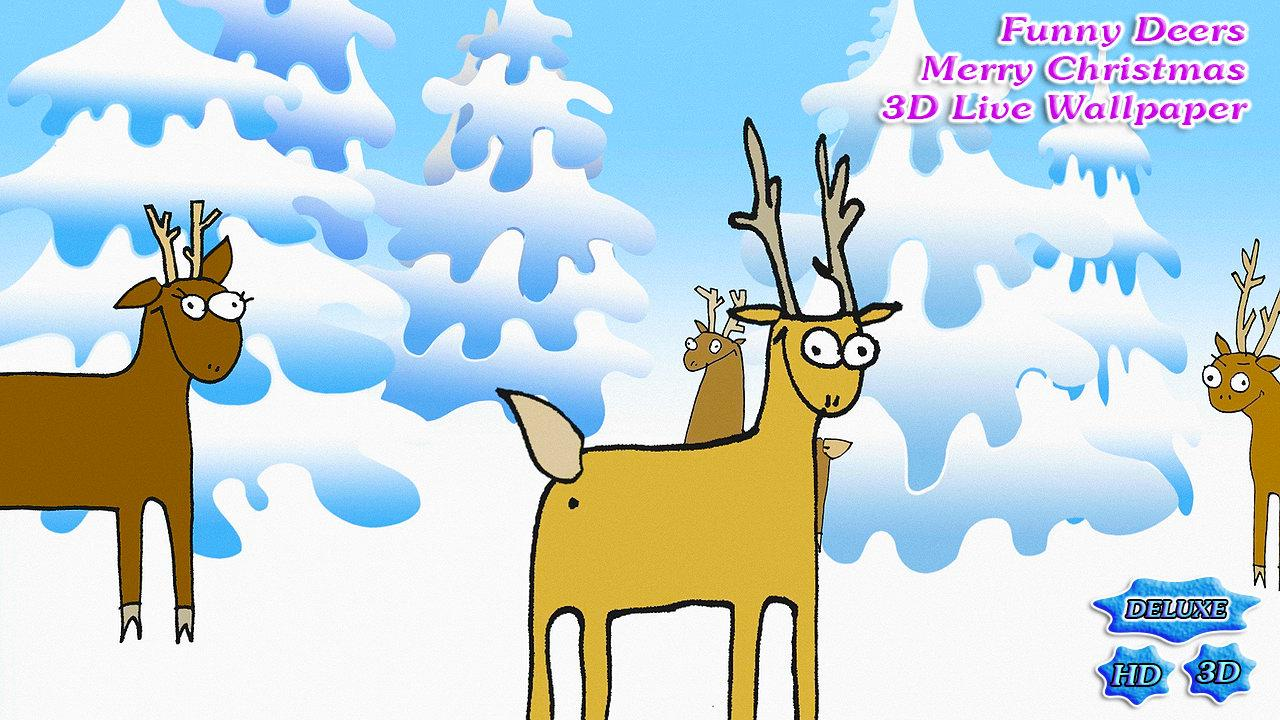 Funny Deers of Christmas- screenshot