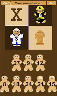 Gingerbread Multiplication- screenshot thumbnail