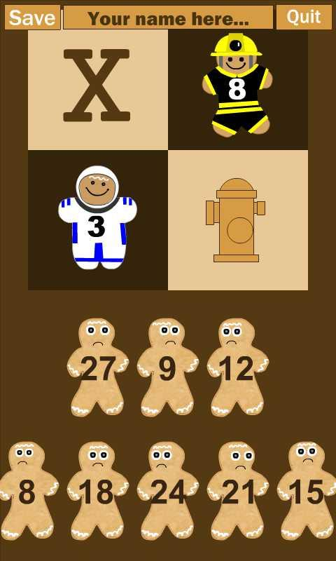 Gingerbread Multiplication - screenshot