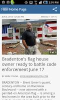 Screenshot of Bradenton Herald Newspaper