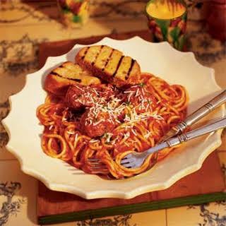 Spaghetti with Meatballs.
