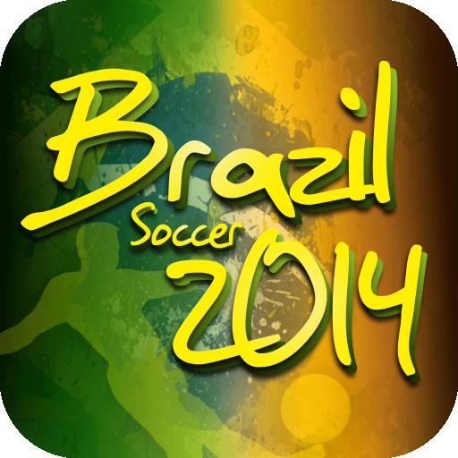 Brazil Soccer 2014 LOGO-APP點子
