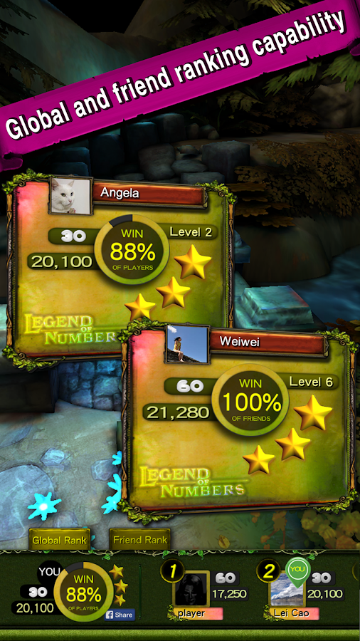 Legend of Numbers- screenshot