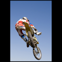 Motocross illustrated logo