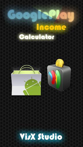 GooglePlay Income Calculator