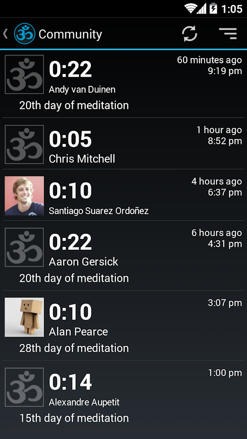 Meditation Assistant Timer - screenshot