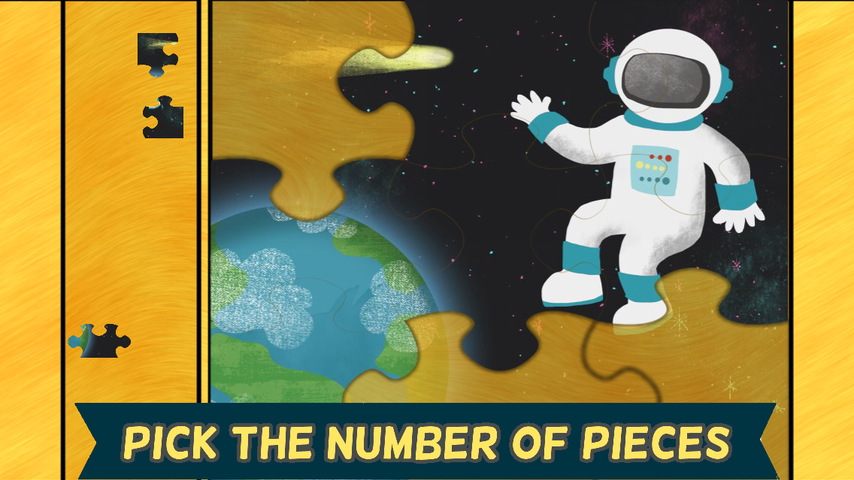 Space Games for Kids: Puzzles- screenshot