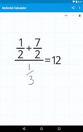 MyScript Calculator Screenshot 15
