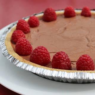 Vegan Chocolate Pie.