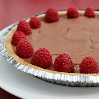 Vegan Chocolate Pie.