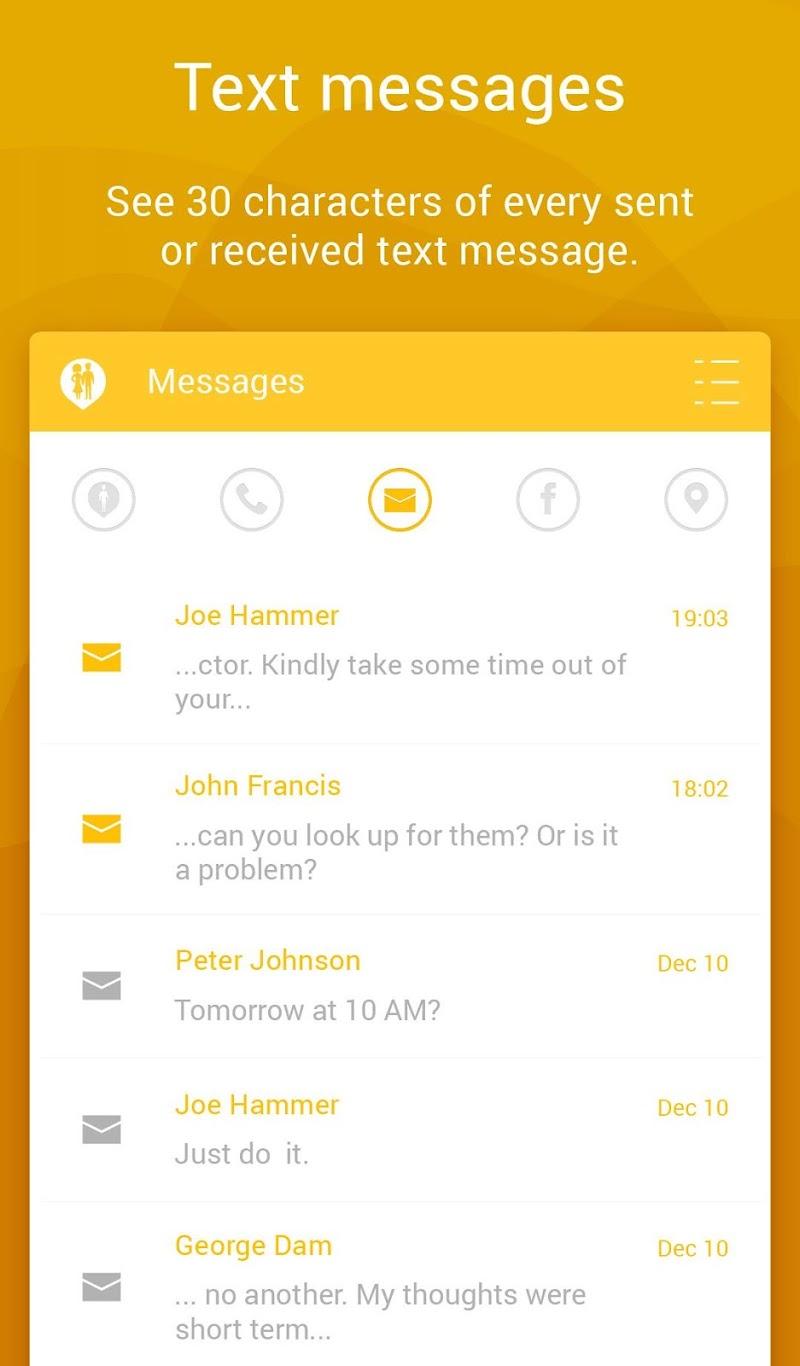 Couple Tracker Pro - Cell phone monitoring Screenshot 8