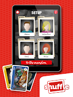 Screenshot of CLUEDOCards by Shuffle