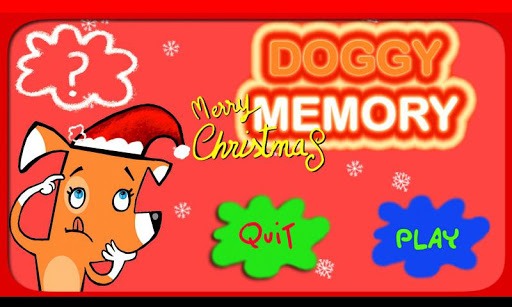 Doggy Memory Christmas