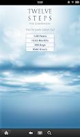 Screenshot of 12 Steps AA Companion