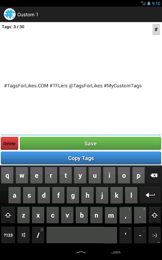 TagsForLikes Pro- screenshot