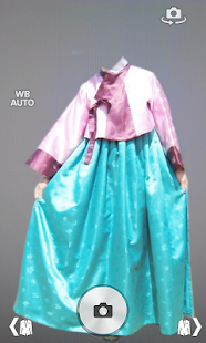 Hanbok Dress Photo Montage screenshot