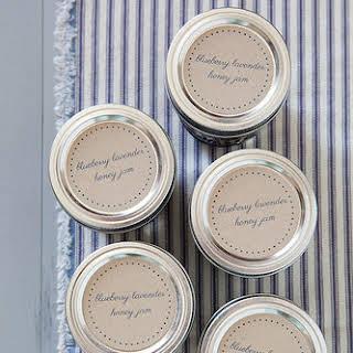 Blueberry Lavender Honey Jam.