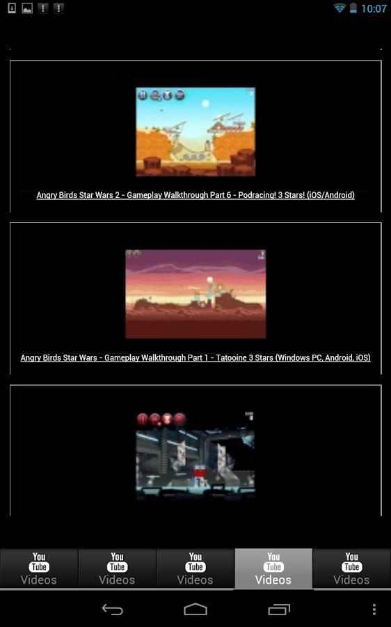 AngryBirdsStarWars2 VideoCheat - screenshot