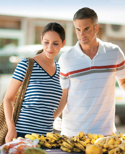Experience a rich variety of cultures and check out the food markets during your time in the tropics when taking a cruise on Tere Moana.