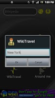 Screenshot of Wiki Tourist