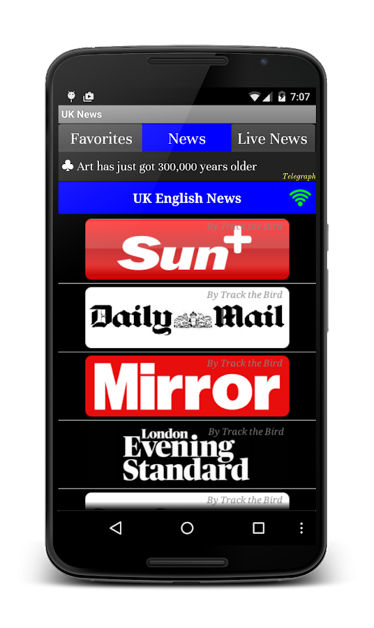 UK News Daily Papers- screenshot