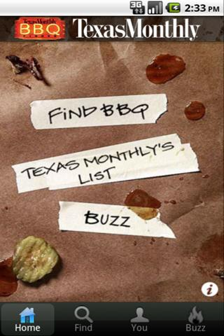 Texas Monthly BBQ Finder - screenshot