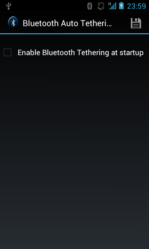 Bluetooth Auto Tethering - screenshot