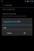 Screenshot of eSmoke