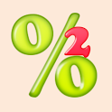 EZ Percentage #2 for Android icon