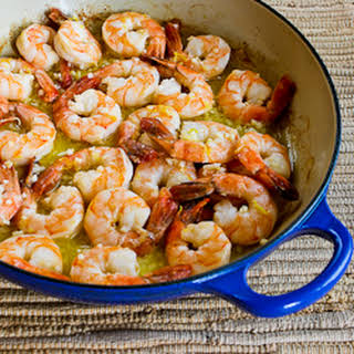 Easy Garlic and Lemon Shrimp.