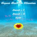 Valentines Aqua Bubbles logo