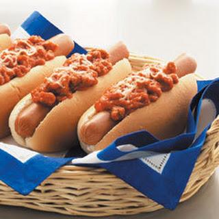 Italian Chili Dogs